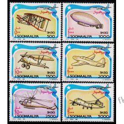 Somalia 1993 Mi 485-90 ** Samolot Helikopter Lotnictwo