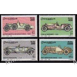 Somalia 1999 Mi 758-61 ** Motoryzacja Samochody Motoryzacja