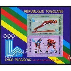 Togo 1980 BL 151 ** Olimpiada Lake Placid Hokej Pozostałe