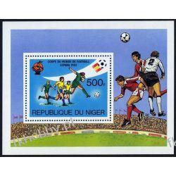 Niger 1981 Mi BL 34 ** Piłka Nożna Sport Pozostałe