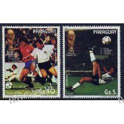 Paragwaj 1982 Mi 3560+62 ** Piłka Nożna Sport Pozostałe