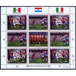 Paragwaj 1987 Mi ark 4061-62 ** Piłka Nożna Sport Sport