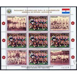 Paragwaj 1986 Mi ark 3983 ** Piłka Nożna Sport Sport