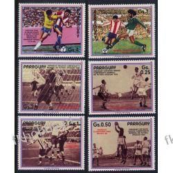 Paragwaj 1986 Mi 3977-82 ** Piłka Nożna Sport Pozostałe