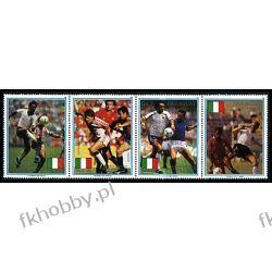Paragwaj 1989 Mi 4434-37 ** Piłka Nożna Sport Polonica