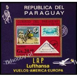 Paragwaj 1971 Mi BL 167 ** Lotnictwo Kosmos Znaczek Lotnictwo