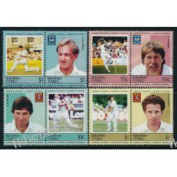 Tuvalu Nukufetau 1985 Mi 23-30 ** Sport Krykiet Sport
