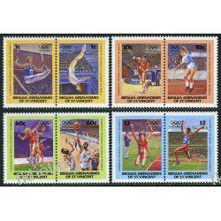 Saint Vincent Beq 1984 Mi 34-41 ** Olimpiada Los Angeles Sport
