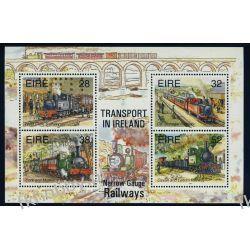 Irlandia 1995 Mi BL15 ** Kolej Lokomotywy Kolejnictwo
