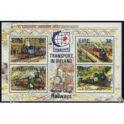 Irlandia 1995 Mi BL15 I ** Kolej Lokomotywy Kolejnictwo