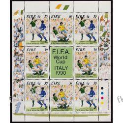 Irlandia 1990 Mi ark 712-13 ** Piłka Nożna Sport Sport