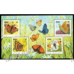 Irlandia 2000 Mi BL 36 ** Motyle Motyl Pozostałe