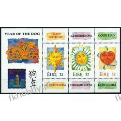 Irlandia 1994 Mi BL 11 ** Pozdrowienia po 1945