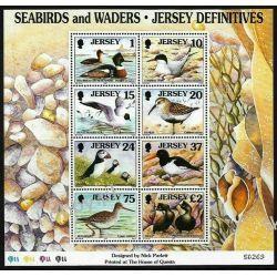 WB Jersey 1997 Mi BL 15 ** Ptaki Ptak Ptaki