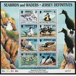 WB Jersey 1998 Mi BL 18 ** Ptaki Ptak Ptaki