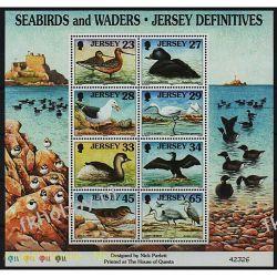 WB Jersey 1999 Mi BL 23 ** Ptaki Ptak Ptaki