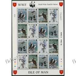 WB Man 1989 Mi ark 408-11 ** WWF Ptaki San Marino