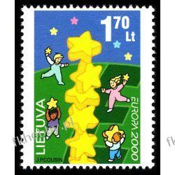 Litwa 2000 Mi 730 ** Europa Cept Dzieci Pozostałe