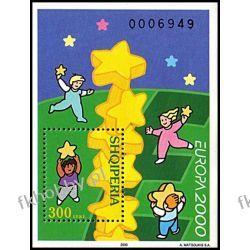 Albania 2000 BL 123 ** Europa Cept Wspólne Wydanie Pozostałe