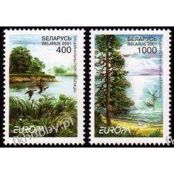 Białoruś 2001 Mi 409-10 ** Europa Cept Ptaki Ptaki