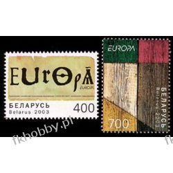 Białoruś 2003 Mi 488-89 ** Europa Cept Plakat Ssaki