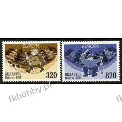 Białoruś 2004 Mi 543-44 ** Europa Cept Ryba Turystyka Ryby