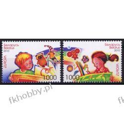 Białoruś 2010 Mi 802-03 ** Europa Cept Zabawki Dzieci Polonica
