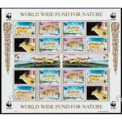 Mongolia 1995 Mi ark 2562-65 ** WWF Zwierzęta Ssaki