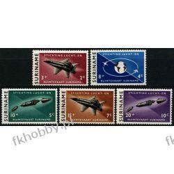 Suriname 1964 Mi 441-45 ** Kosmos Samolot Lotnictwo
