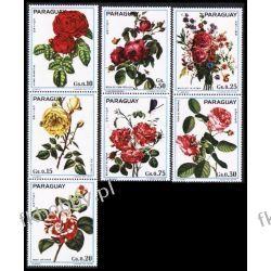 Paragwaj 1974 Mi 2537-43 ** Kwiaty Kwiat Flora