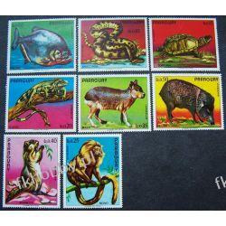 Paragwaj 1975 Mi 2664-71 ** Zwierzęta Ryby Ssaki