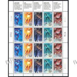 USA 1994 Mi ark 2427-31 ** Olimpiada Lillehammer Sport