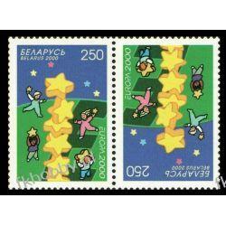 Białoruś 2000 Mi 369 x2 ** Europa Cept Dzieci Pozostałe