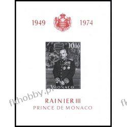 Monako 1974 Mi BL 6 ** Czesław Słania Rainer III  Pozostałe