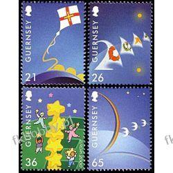 WB Guernsey 2000 Mi 851-54 ** Europa Cept Wspólne Pozostałe