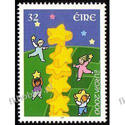 Irlandia 2000 Mi 1223 ** Europa Cept Wspólne Harcerstwo i Skauting