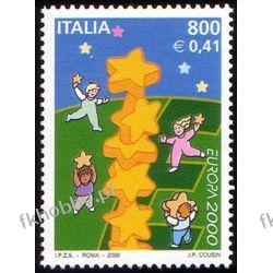 Italia 2000 Mi 2702 ** Europa Cept Wspólne po 1945