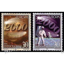Jugosławia 2000 Mi 2975-76 ** Europa Cept Wspólne Kolekcje