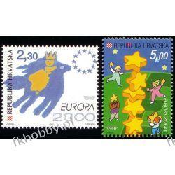 Chorwacja 2000 Mi 544-45 ** Europa Cept Wspólne Kolekcje