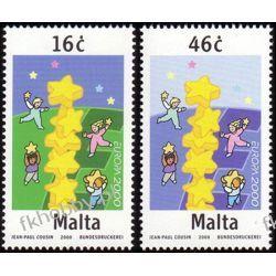 Malta 2000 Mi 1127-28 ** Europa Cept Wspólne Kolekcje