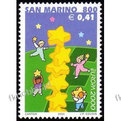 San Marino 2000 Mi 1883 ** Europa Cept Wspólne po 1945