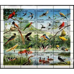 Malawi 1992 Mi Ark 581-00 ** Ptaki Zwierzęta Sport