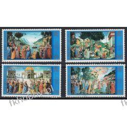 Watykan 2000 Mi 1341-44 ** Kaplica Sykstyńska Malarstwo Filatelistyka