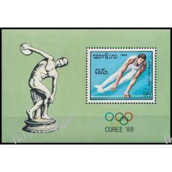 Laos 1988 Mi BL 121 ** Olimpiada Seoul Sport  Sport