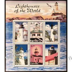 Grenada 2001 Mi ark 4749-54 ** Latarnie Morskie Marynistyka