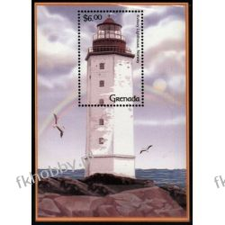 Grenada 2001 Mi BL 652 ** Latarnie Morskie Marynistyka