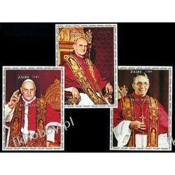 Zair 1979 Mi BL 25-27 ** Jan Paweł I Papież Pozostałe