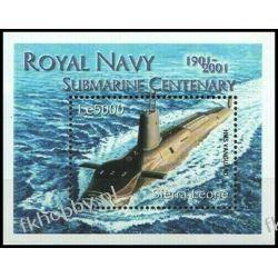 Sierra Leone 2001 Mi BL 516 ** Statek Okręt Marynistyka