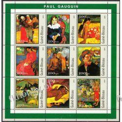 Gwinea Bissau 2001 Mi Ark 1642-50 ** Paul Gauguin Malarstwo