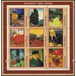Gwinea Bissau 2001 Mi Ark 1651-59 ** Vincent Van Gogh Malarstwo
